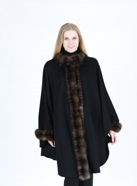 Loro Piana Cashmere With Russian Sable