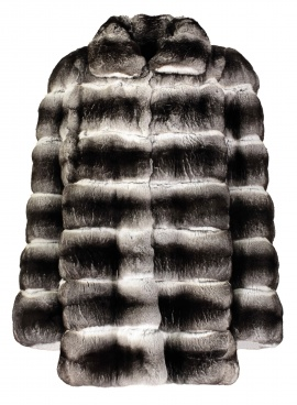 Horizontal Chinchilla Coat