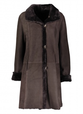 Chocolate Shearling Jacket
