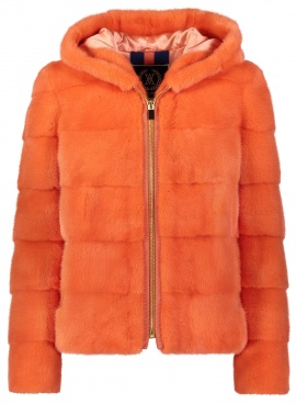Creamsicle Mink Jacket