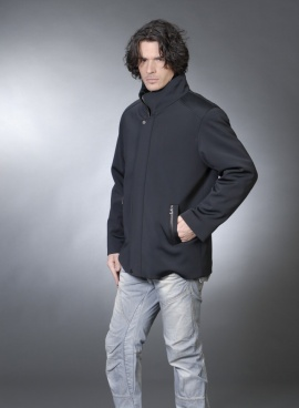Mens Shearling Lined Jacket