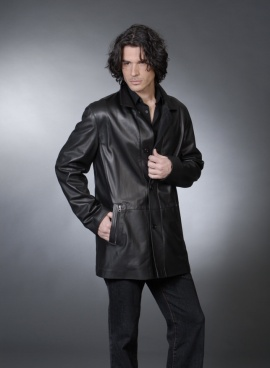 Mens Italian Leather Jacket
