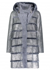 PEARLIZED SHEARLING REVERSIBLE