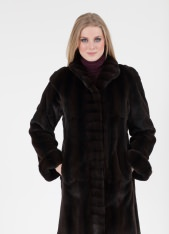 Signature Classic Reversible Sheared Mink Short Coat