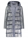 Metal Grey Shearling