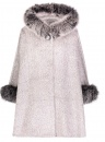 Alpaca Hooded Cape