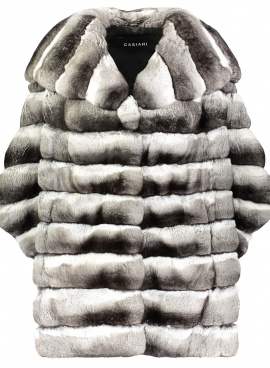 Chinchilla Cape Jacket