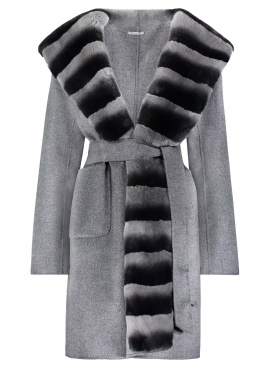 Cashmere Rex Trimmed Greatcoat